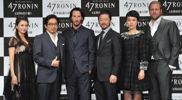 47 Ronin Japan Photocall