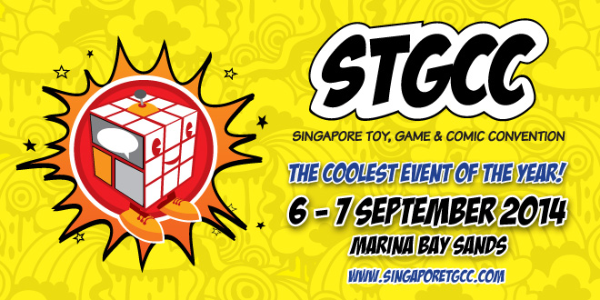 Singapore Toy, Game and Comic Convention (STGCC) 2014