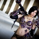 ICDS 2014 Cosplay Kamui World of Warcraft Warrior