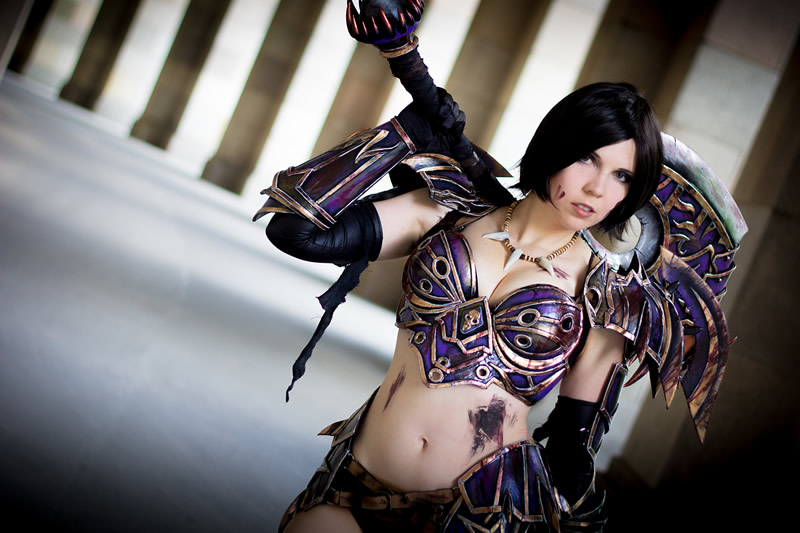 ICDS 2014 Cosplay Kamui World of Warcraft WarriorWorld Of Warcraft Cosplay Warrior