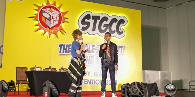 The Singapore Toy, Games & Comic Convention (STGCC) 2014