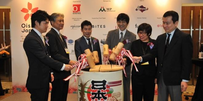 Oishii Japan 2014 Opens With largest Exhibitor Participation & Pre-registered Visitors Since Debut