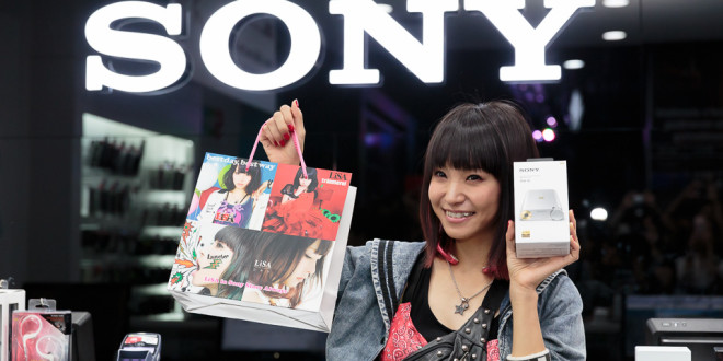 LiSA in Sony Store Always